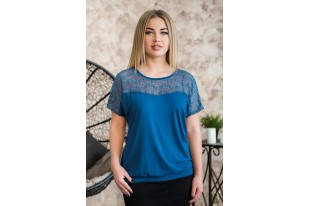 Блуза женская 0170-54 индиго