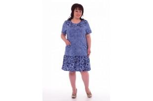 Платье женское 4-40 кулирка