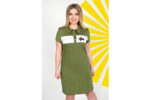 Платье женское 0747-65 кулирка