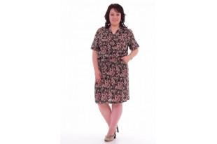 Платье женское из  штапеля 1-22б