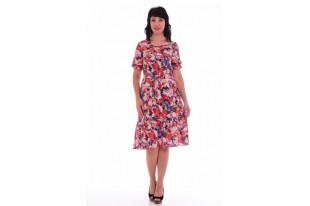 Платье женское из штапеля 1-28ж