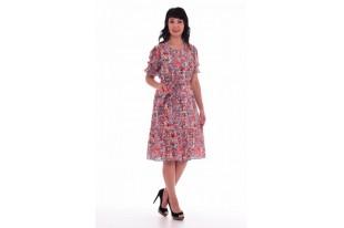 Платье женское из  штапеля 1-28