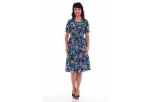 Платье женское из штапеля 1-28з