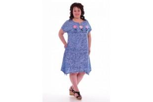 Платье женское 4-54 кулирка