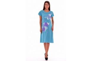 Платье женское 4-38 кулирка