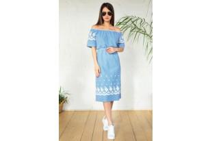 Платье женское Голубка кулирка