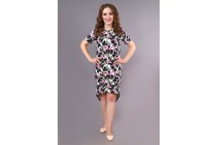 Платье женское Александра Фламинго кулирка