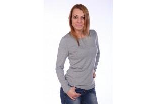 Блузка женская джерси БЖ-60 серый меланж