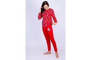 Пижама женская 221ХР2405П футер с начесом