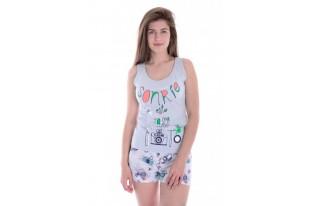 Пижама женская Фото трикотаж