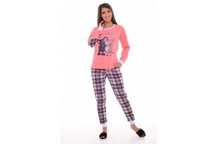 Пижама женская 1-103 футер с начесом