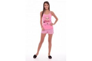 Пижама женская 1-107 кулирка