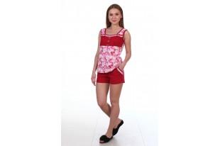 Пижама женская 1-45 кулирка