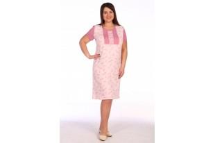 Сорочка женская С-334-розовая