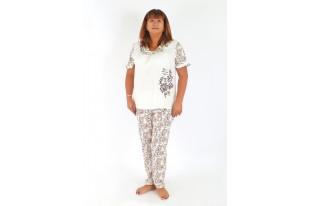 Пижама женская Дамский каприз брюки кулирка