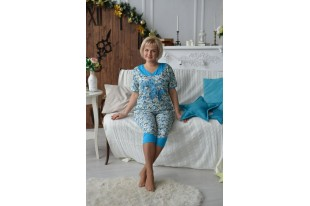 Пижама женская П45 кулирка
