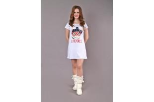 Сорочка женская  ДАНА МИШКА НА ОБЛАКЕ