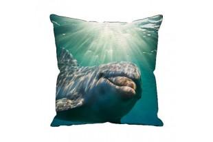 Подушка декоративная Дельфин 40*40