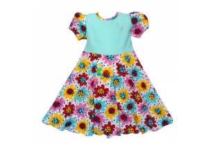 Платье детское Ксюша кулирка