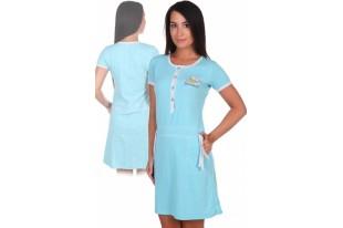Платье женское №1031 меланж