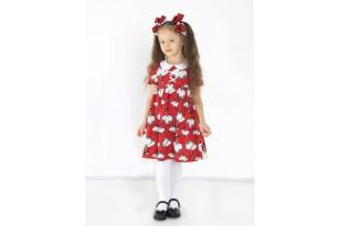 Платье детское Семицветик кулирка