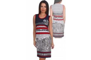 Платье женское №1790 вискоза