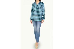 Рубашка женская 9003022 штапель