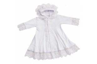 Платье крестильное детское 0171 интерлок