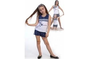 Пижама детская №5001 кулирка