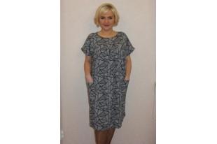 Платье женское П1032.1 хлопок