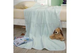 Одеяло-покрывало Горизонт ментол хлопок