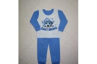 Пижама детская Хаски интерлок