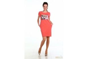 Платье женское №482 кулирка