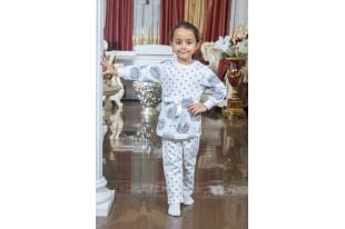 Пижама детская №18Д Барби футер