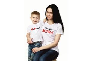 Комплект футболок Best мама хлопок