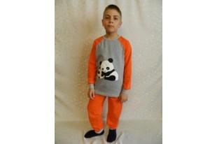 Пижама детская Панда футер