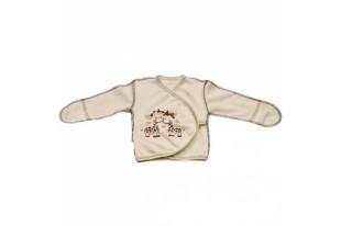 Распашонка-кимоно детская Жирафик 1786 интерлок
