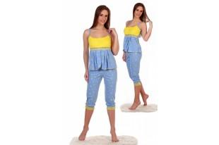 Пижама женская Настя-2 кулирка