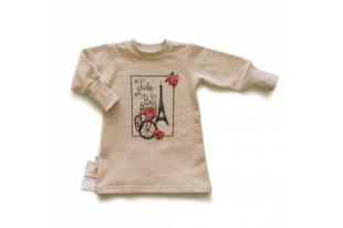 Платье детское Париж 00006 футер