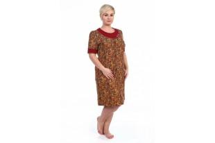 Платье-туника женское 201ХР1277 хлопок