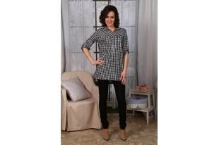 Рубашка женская № 476 кулирка