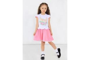 Платье детское Марселина кулирка