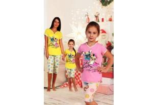 Пижама детская №5022 кулирка