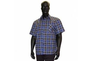 Рубашка мужская короткий рукав бязь