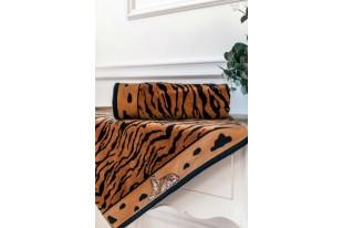 Полотенце Тигры и львы махра