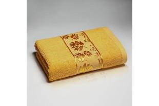 Полотенце Шелковый путь Оранж махра бамбук