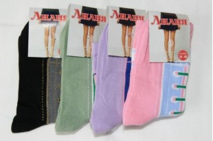 Носки женские Лилия шнур смесовая
