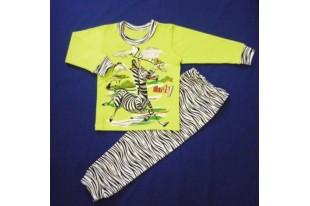 Пижама детская Зебра интерлок