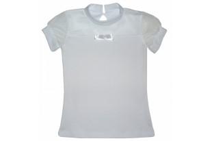 Блузка детская с сеткой 446 интерлок