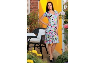 Платье женское Барбара трикотаж